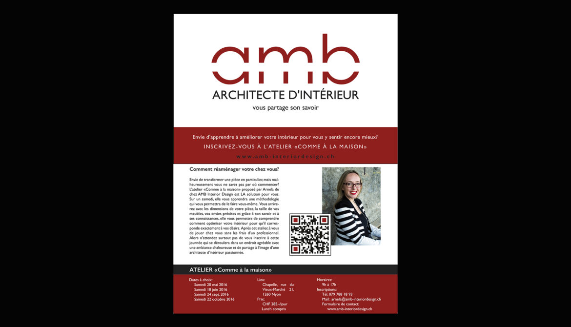 Geradinestyle, communication, graphisme, flyer A5