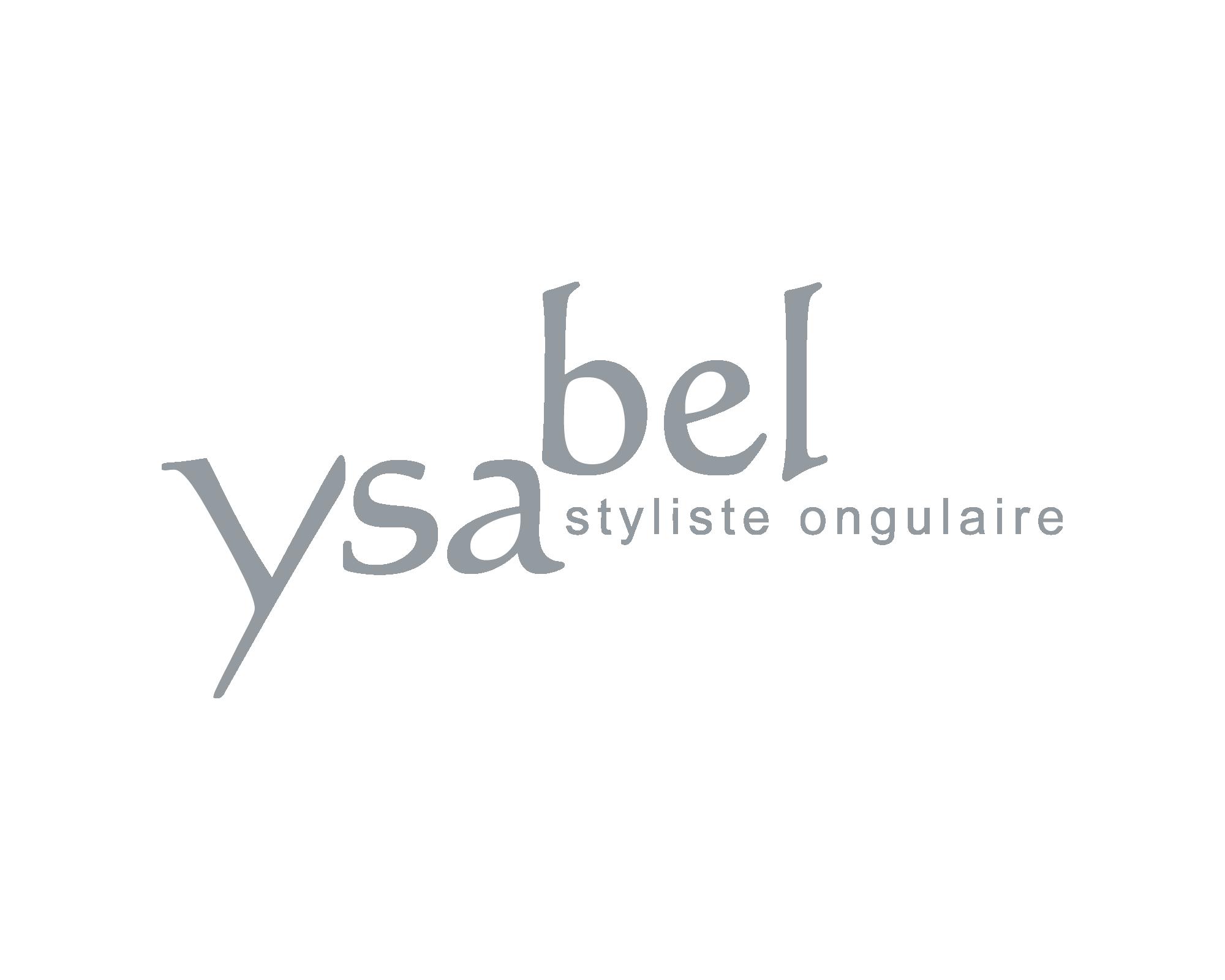 Logo Ysabel, onglerie, nails, styliste ongulaire, ysabel
