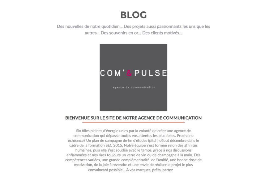 Webdesign – Agence de communication